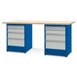Stół warsztatowy 2100mm, 2...