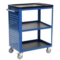 Wózek warsztatowy z 3 półkami