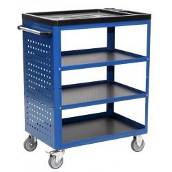 Wózek warsztatowy z 4 półkami