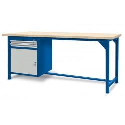 Stół ślusarski 2100mm z szafką