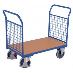 Wózek 2 burty z siatki...