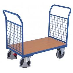Wózek 2 burty z siatki,...