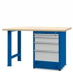 Stół warsztatowy 1500mm z...