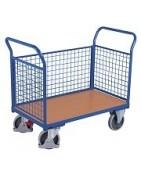 Wózki z burtami osiatkowanymi