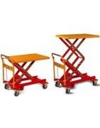 Wózki podnośnikowe stołowe